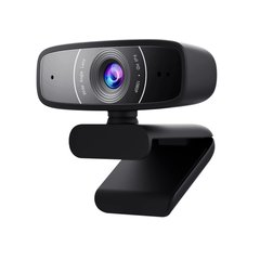 Веб-камера ASUS Webcam C3 Full HD Black (90YH0340-B2UA00)