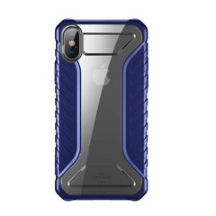 Чехол Baseus для iPhone XS Michelin, Blue (WIAPIPH58-MK03)