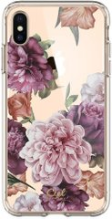 Чехол Spigen для iPhone XS Max CYRILL Cecile, Rose Floral (065CS25258)