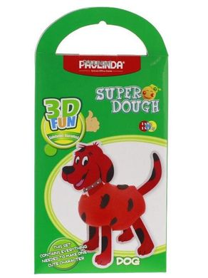 Масса для лепки Paulinda Super Dough 3D FUN Собака PL-081285 (PL-081285)