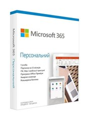 Microsoft 365 Personal для 1 ПК на 1 год Subscription Ukrainian Medialess P6 (QQ2-01057)