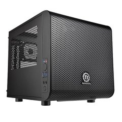 Корпус Thermaltake Core V1,без БП,2xUSB3.0, черный,mini-ITX (CA-1B8-00S1WN-00)