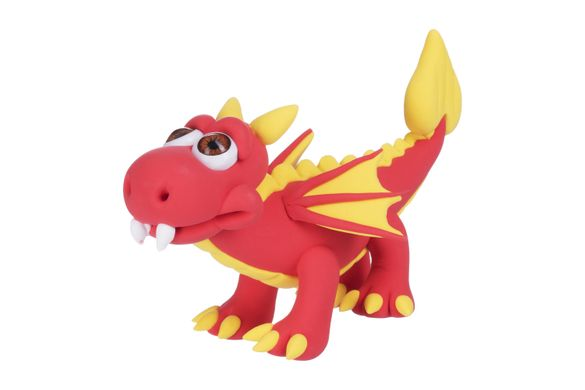 Масса для лепки Paulinda Super Dough Cool Dragon Драконы 3 в 1 PL-081554 (PL-081554)