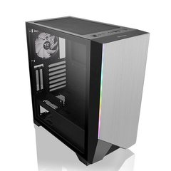 Корпус Thermaltake H550 TG ARGB Edition/Black/Grey/Win/SPCC/Tempered Glass*1/1x120mm ARGB fan (CA-1P4-00M1WN-00)