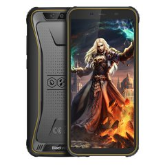 Мобильный телефон Blackview BV5500 2/16GB Dual SIM Yellow OFFICIAL UA (6931548305675)