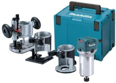 Фрезер Makita RT0700CX2J, 710Вт, 6/8мм, 10000-30000об/мин, 1.8кг (RT0700CX2J)