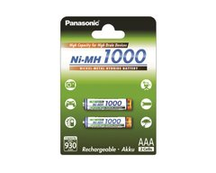Аккумулятор Panasonic High Capacity AAA 1000 mAh 2BP NI-MH (BK-4HGAE/2BE)